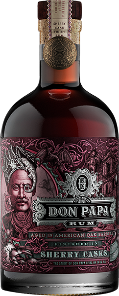 Don Papa Rum Sherry Cast 45% VOL.