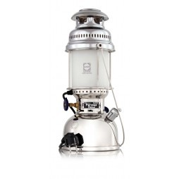 Petromax HK500 chrom elektro Tischlampe