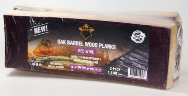 Planken Rotwein 3 x Fassplanken 1,5 Kg