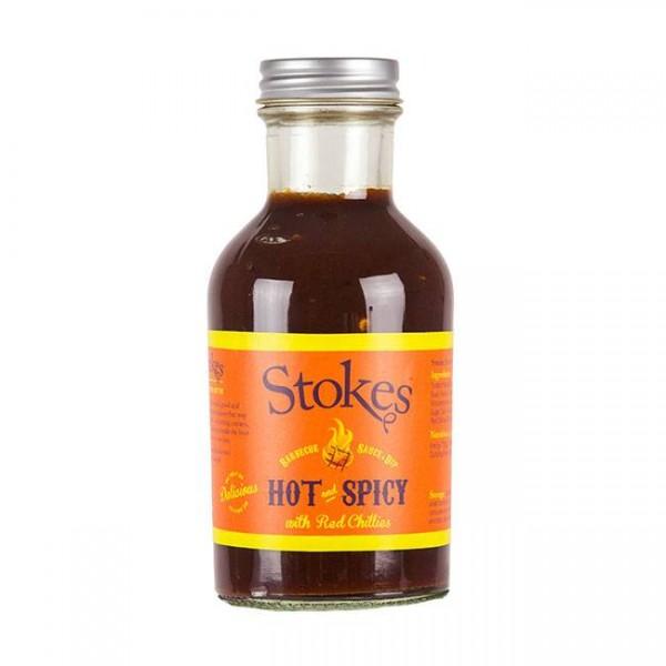 BBQ Sauce Hot & Spicy 267ml