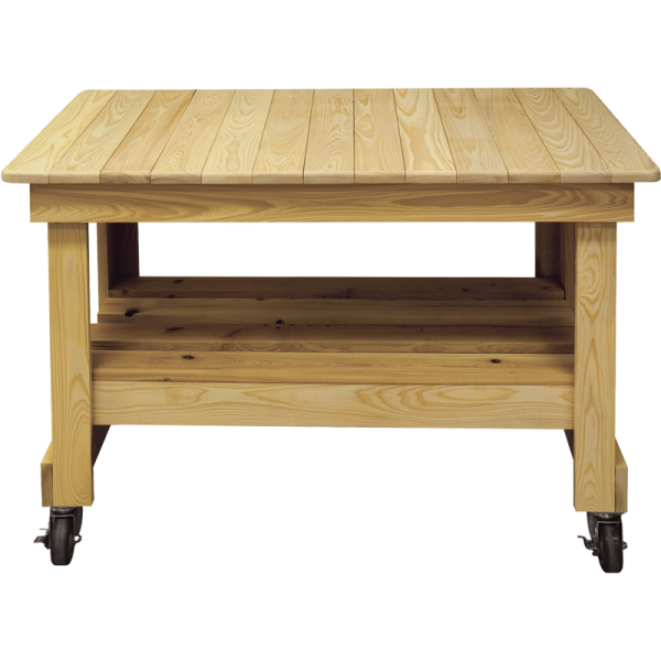 Primo Beistelltisch aus Zypressenholz