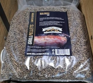 Grillpellets Sonderedition Walnuss 10kg