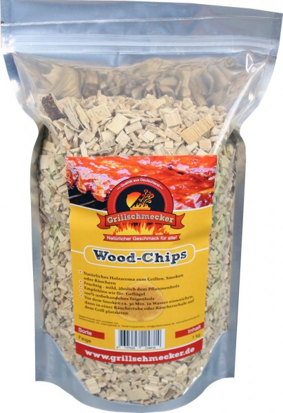 Wood-Chips-Erdbeerbaum