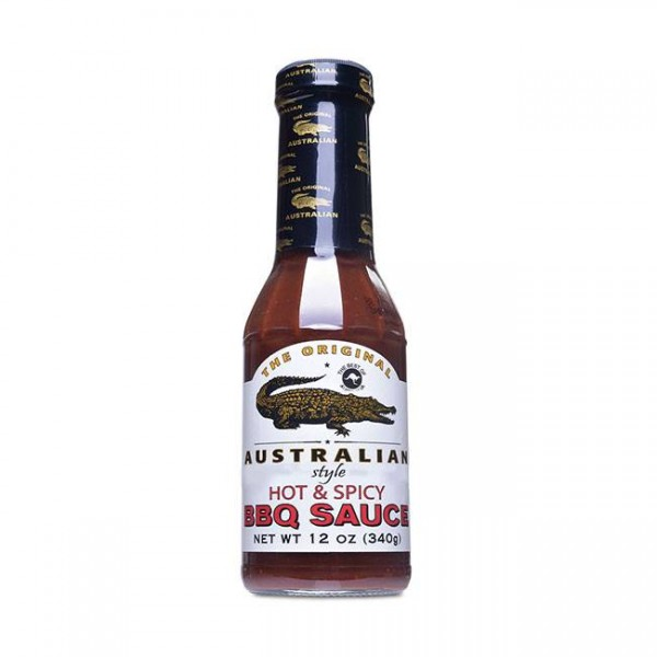 Hot & Spicy BBQ Sauce 355ml