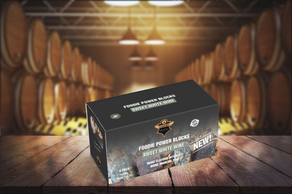 Foodie Power Blocks Weißwein süß 4 x 200g