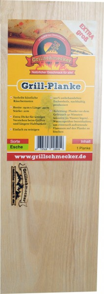 Grillplanke Ahorn XL