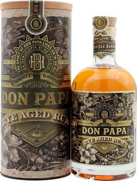 Don Papa Ray Aged Rum 45% VOL.