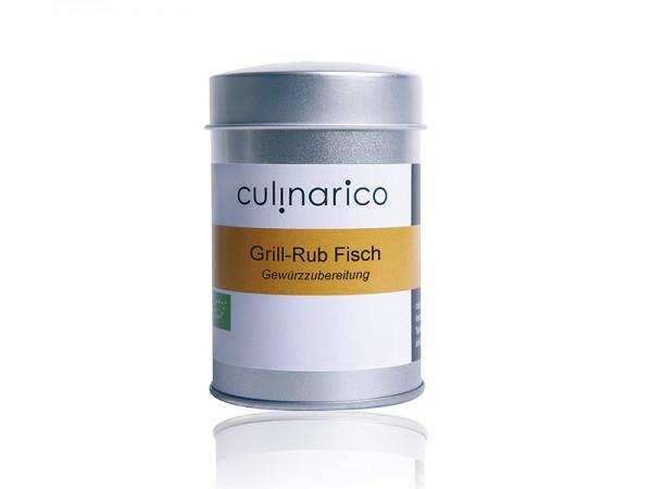 Grill-Rub Fisch, bio